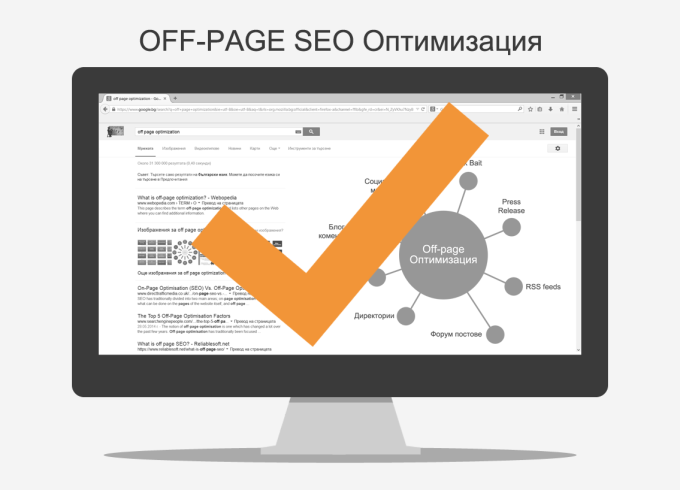 Off page SEO оптимизация